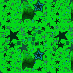 Star multi green