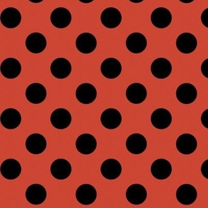 red polka