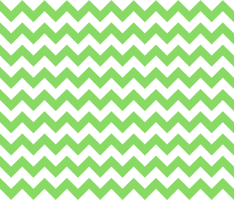chevron_green fabric by walrus_studio on Spoonflower - custom fabric