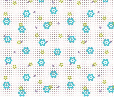 Spot_Garden fabric by designedtoat on Spoonflower - custom fabric