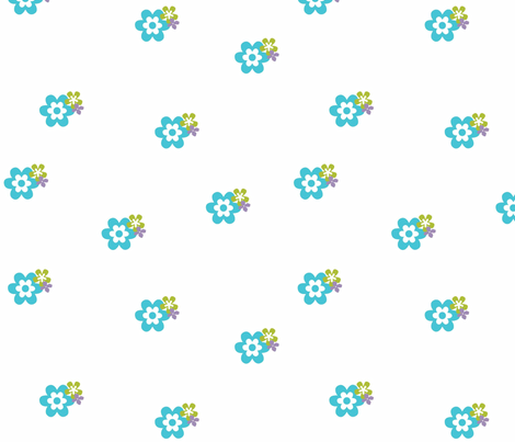 Flower_Garden fabric by designedtoat on Spoonflower - custom fabric