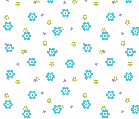 Garden fabric by designedtoat on Spoonflower - custom fabric