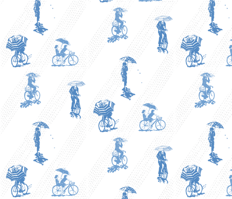 despite the rain fabric by johanna_design on Spoonflower - custom fabric