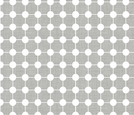 Grey_Linen fabric by designedtoat on Spoonflower - custom fabric