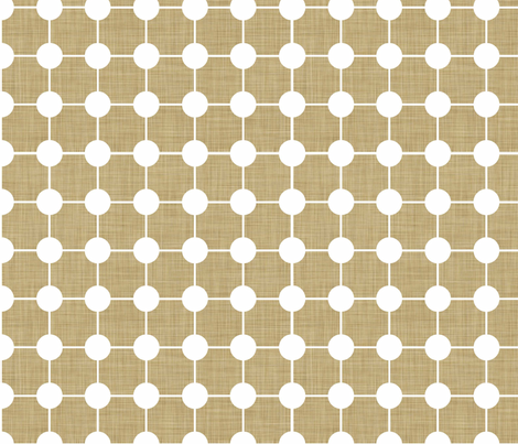 Natural_Linen fabric by designedtoat on Spoonflower - custom fabric