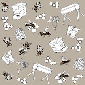 beekeeper - stone
