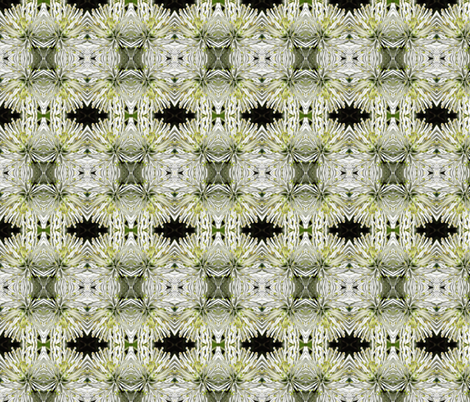 white_mum1 fabric by penelopeventura on Spoonflower - custom fabric