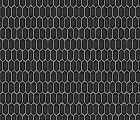 TaliHexGrid_smallerwithHigherContrast_Final_ fabric by shyailu on Spoonflower - custom fabric