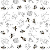 Rrrrbees-_tea_towel1-best_shop_thumb