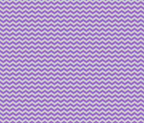 Purple Grey Chevron - jessicablair - Spoonflower