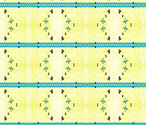 Beach  fabric by _vandecraats on Spoonflower - custom fabric