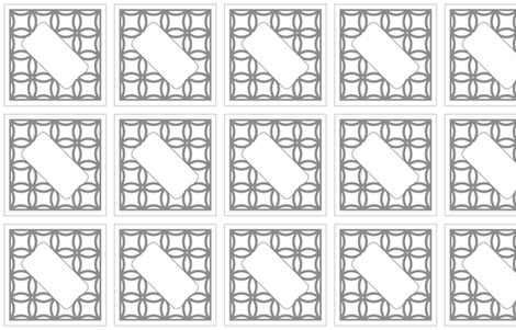 Wedding Guestbook Square Gray fabric by cressie on Spoonflower - custom fabric
