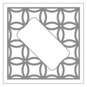 Wedding Guestbook Square Gray