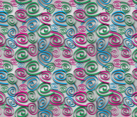 Fabulous Spirals fabric by jjtrends on Spoonflower - custom fabric