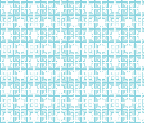 Blue_Weave_ii fabric by designedtoat on Spoonflower - custom fabric