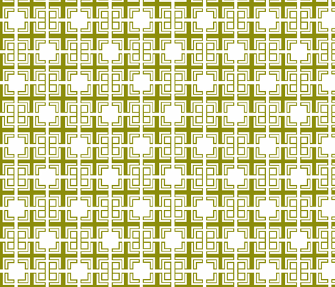 Green_Weave_ii fabric by designedtoat on Spoonflower - custom fabric