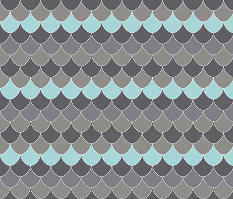 drop_owly_blue fabric by katarina on Spoonflower - custom fabric
