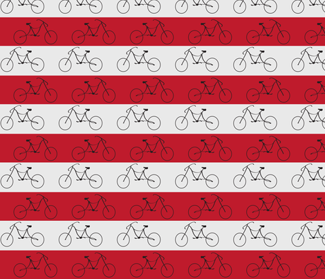 bicycle fabric by tamnoona on Spoonflower - custom fabric