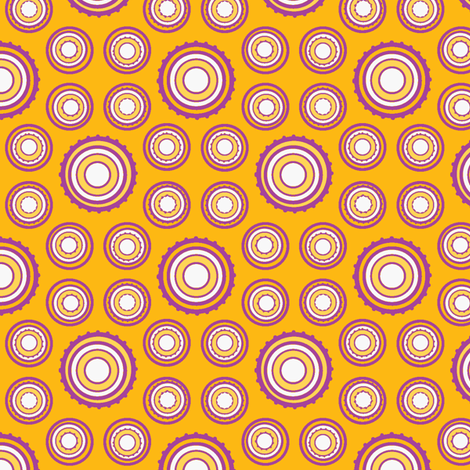 DOTS 250 JUICY fabric by glimmericks on Spoonflower - custom fabric