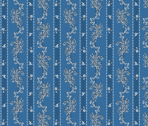Wishing Fabric Pale Blue - Phantom of the Opera fabric by mellymellow on Spoonflower - custom fabric