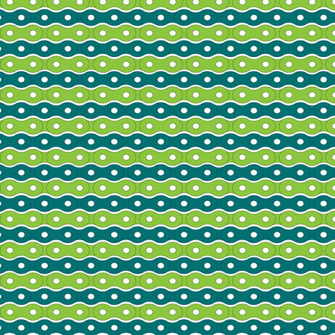 Bike Chain Stripes fabric by upcyclepatch on Spoonflower - custom fabric