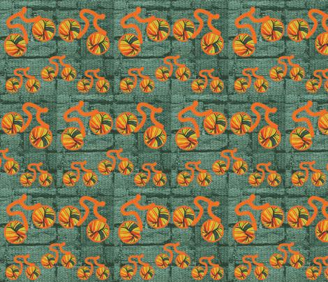 Knitcycle Hits the Bricks fabric by mammajamma on Spoonflower - custom fabric