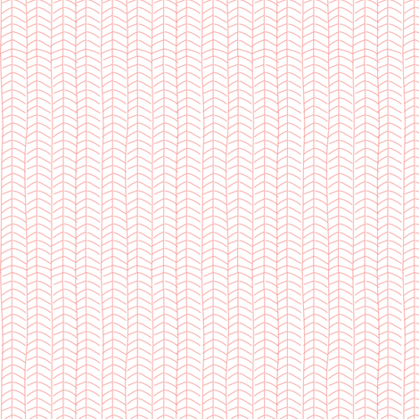 Texas Modern Herringbone Pink fabric by jacinda on Spoonflower - custom fabric