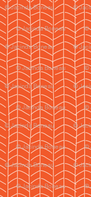 Texas Modern Herringbone Sunrise