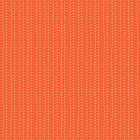 Texas Modern Herringbone Sunrise fabric by jacinda on Spoonflower - custom fabric