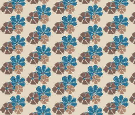 line_flowers fabric by meg56003 on Spoonflower - custom fabric