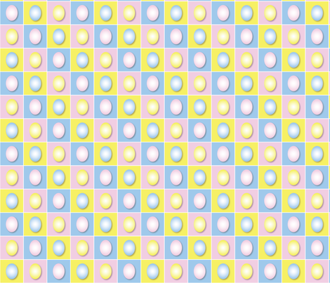 Easter Eggs fabric by jjtrends on Spoonflower - custom fabric