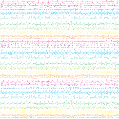 Beautiful noise fabric by studiojelien on Spoonflower - custom fabric