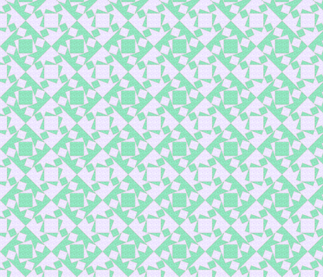 checkewed - seafoam linen fabric by glimmericks on Spoonflower - custom fabric