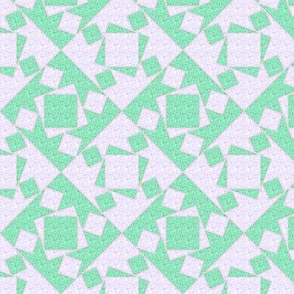 checkewed - seafoam linen