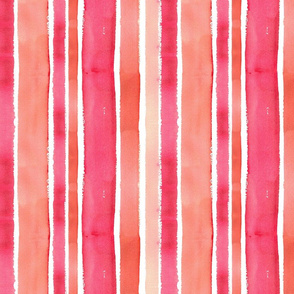 Texas Modern Stripes Coral