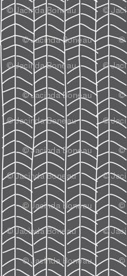 Texas Modern Herringbone Coal