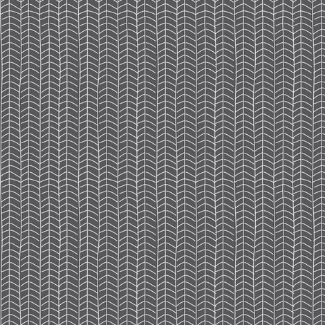 Texas Modern Herringbone Coal fabric by jacinda on Spoonflower - custom fabric