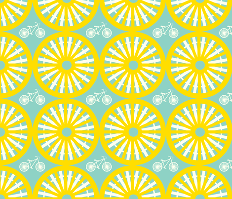 sunny day fabric by fable_design on Spoonflower - custom fabric