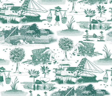Days Of Ore fabric by ravenous on Spoonflower - custom fabric