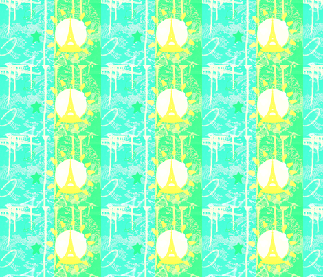 Parisian_dream fabric by _vandecraats on Spoonflower - custom fabric