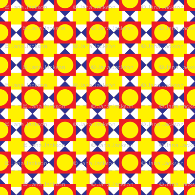 Primary Circles and Squares