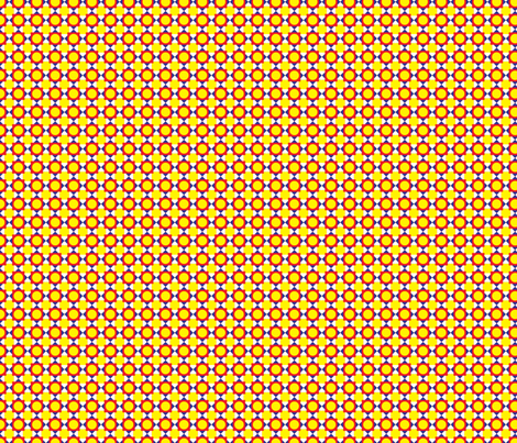 Primary Circles and Squares fabric by jjtrends on Spoonflower - custom fabric