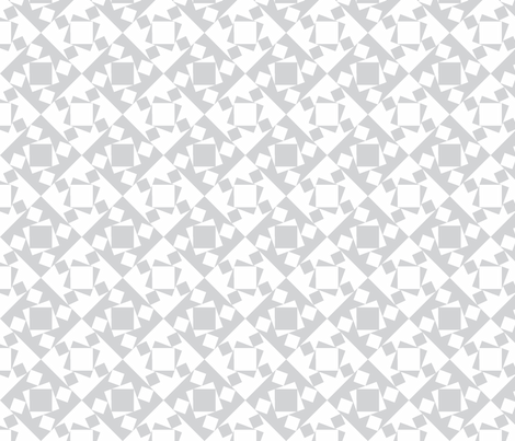 checkewed_-_dove fabric by glimmericks on Spoonflower - custom fabric