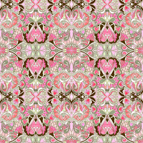 Victorian Romance fabric by edsel2084 on Spoonflower - custom fabric