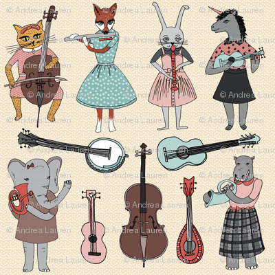 Amazing Animal Alphabet Band - Girl