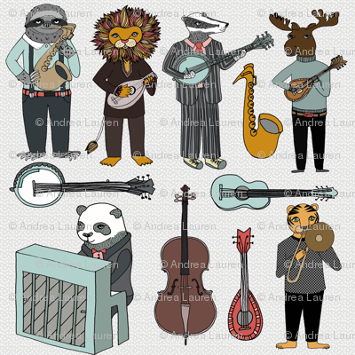 Amazing Animal Alphabet Band - Boy