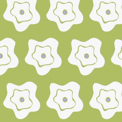 rosey print fabric by alyson_chase on Spoonflower - custom fabric