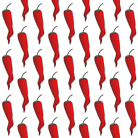 Cayenne  fabric by whimzwhirled on Spoonflower - custom fabric