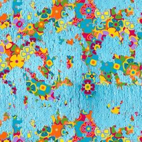 Paint Peel Floral
