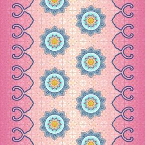 tiki lotus kimono